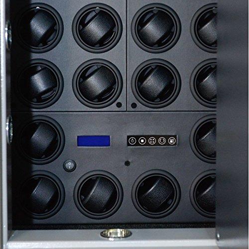 Safewinder® 18 DELUXE BLACK Uhrenbeweger & Safe - 4