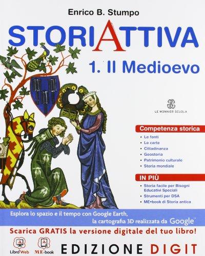 StoriAttiva - Volume 1. Con Me book e Contenuti Digitali Integrativi online
