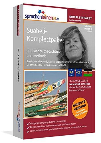 Suaheli-Komplettpaket: Lernstufen A1 bis C2. Fließend Suaheli lernen mit der Langzeitgedächtnis-Lernmethode. Sprachkurs-Software auf DVD für Windows/Linux/Mac OS X