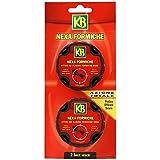 Anti hormigas KB – Trampa Cebo con insecticida autorizado para uso doméstico por el ministerio de sanidad – practico eficaz y seguro para casa y para jardín – acción rápida y larga duración – Garantía KB