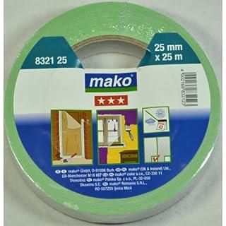 Mako Duoband 60°C für Innen- und Außenbereich 25 mm x 25 m