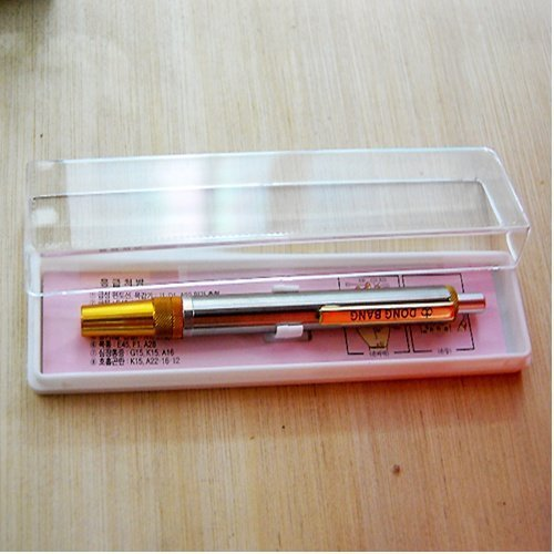 hansol-stainless-steel-painless-lancing-pen-device-for-lancets-acupuncture-by-hansol