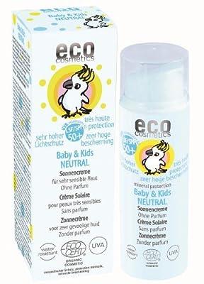 eco cosmetics Baby Sonnencreme