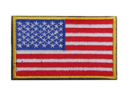 Kingken Craft gamuza insignias Estados Unidos bandera