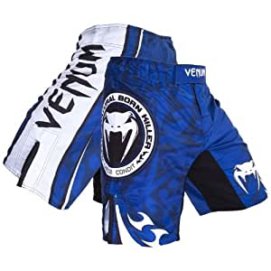 """Venum Carlos Condit """"Championship Edition UFC 154"""" Short de combat - Bleu - L"""