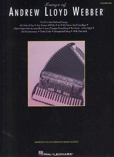 Songs Of Andrew Lloyd Webber (Accordion)...