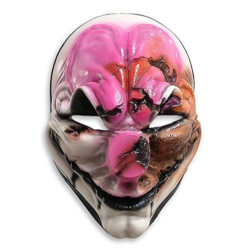 Close Up Payday 2 Maske Old Hoxton aus Vinyl Bedruckt, für Erwachsene, mit ()