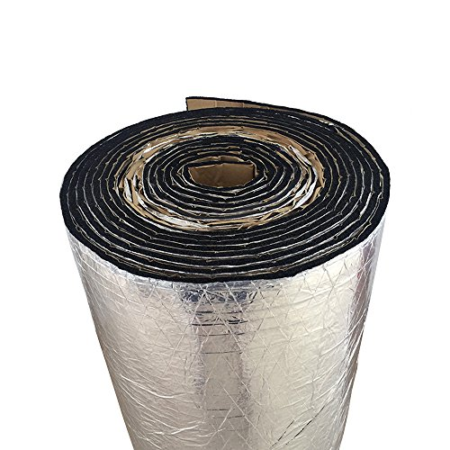 eleartm-2-x-kfz-schallschutz-dampfung-isolierung-7mm-geschlossenen-zellschaum-glasfaser-50cm-x-100cm