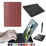 Kit de démarrage ASUS ZenPad 3S 10Z500m 24,6cm Tablette Smart Case, Coque avec Clavier, Film de Protection d'écran et Stylet Inclus, Prime, Disponible, Livraison Rapide
