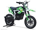 Moto Enfant Électrique RX 500W - Édition Edition Limitée - Vert