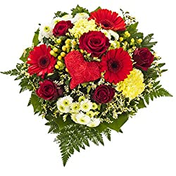 Dominik Blumen Und Pflanzen, Blumenstrauss Herzensfreude
