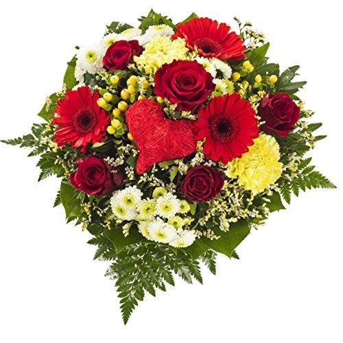 Dominik Blumen und Pflanzen, 755830 Blumenstrauss Herzensfreude