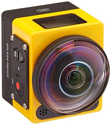 Kodak SP360 Aqua Pixpro Action Kamera inklsiv Aqua Kit gelb/schwarz
