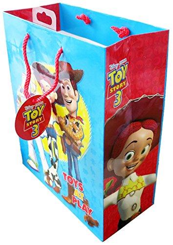 Party Geschenk Tasche mit Cartoon Druck, perfekt für jeden Anlass. Maße Tasche: 21,5cm (W) X 26,5cm (H) X 10cm (D) Souvenir/Speicher/MEMORIA. Kinder aller Altersgruppen lieben diese Fun Geschenk Tüte. SAC (Disney Promo Codes)