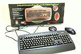Hochwertige Tevion Qwertz Funk Tastatur inkl. Maus