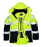 Portwest S760hi-vis Jacke Atmungsaktiv, Farbe, Größe Large