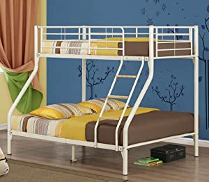 Birlea Nexus Bunk Bed Cream Metal