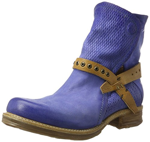 Damen natur Blau Boots Denim denim A Biker Vi Saint14 98 S denim EnqPH