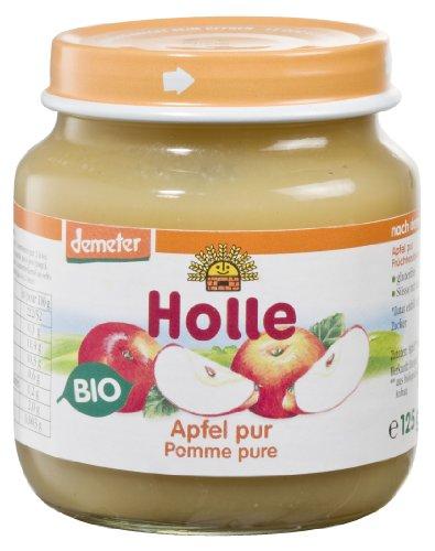 Holle Apfel Pur 6er Pack (6 x 125 g)  Bio