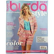 GALERIAS MADRID Revista MENSUAL DE Moda BURDA Style