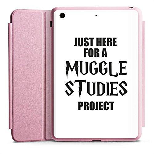 Apple iPad Mini 2 Smart Case rosa Hülle mit Ständer Schutzhülle Harry Potter Spruch - Harry Case Potter Mini Ipad
