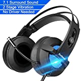 Gaming Headset 7.1 Surround Stereo Sound Gaming Auriculares con...