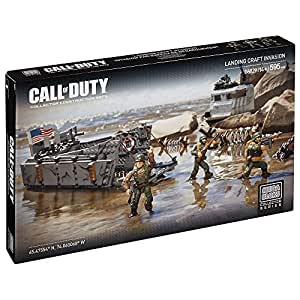 Mega Bloks Call Of Duty Set Landing Craft Invasion Amazon