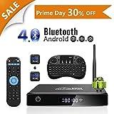 Android TV Box, GooBang Doo XB-III Smart TV Box con Mini Teclado Inalámbrico Bluetooth 4.0...