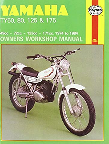 Yamaha TY50, TY80, TY125 and TY175 1974-84 Owner's Workshop Manual