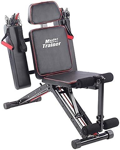 PEARL sports Fitnessgerät: 40in1 Ganzkörper Krafttrainer HT-640