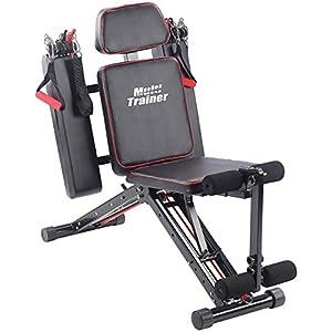 PEARL sports Ganzkörpertrainer: 40in1 Ganzkörper Krafttrainer HT-640 mit 40 Übungen (Ganzkörpertrainer für zu Hause)