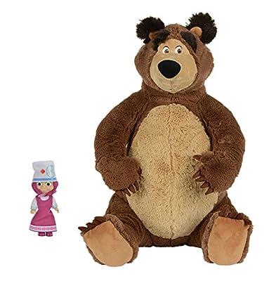 Puppe Mascha und der Plüsch Bär Masha i Medved Masha and the Bear Misha Set