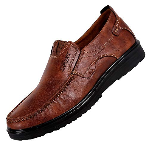 Scarpe Business da Uomo in Vendita Primavera Autunno Slip-On Traspirante Scarpe Casual Fondo Morbido per Uomo/Ragazzo di Kinlene