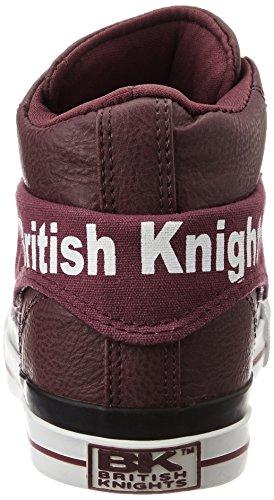 British Knights Herren Roco High-Top VIN ROUGE
