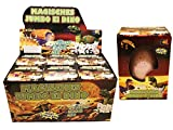 XXL Dino Schlüpf Ei 11cm - Magic growing Egg Jumbo Dinosaurier Schlüpfei hergestellt von JustRean Toys