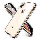 AINOPE Liquid Crystal,iPhone XS Max hülle,Transparent TPU [Ultra Hybrid][Airbag] Silikon Handyhülle Ultra dünn Schutzhülle Flex Case für iPhone XS Max (6.5 Zoll) 2018 - Crystal Clear–MEHRWEG