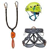 Climbing Technology Kit Ferrata Premium Eclipse - Hook It Slider - Explorer tg.M-L Kit Ferrata, Assortiti, M-L