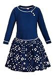 La-V Mädchenkleid Blau/Größe 134