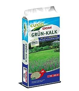 Cuxin Grün Kalk Chaux magnésienne en granulés 20 kg