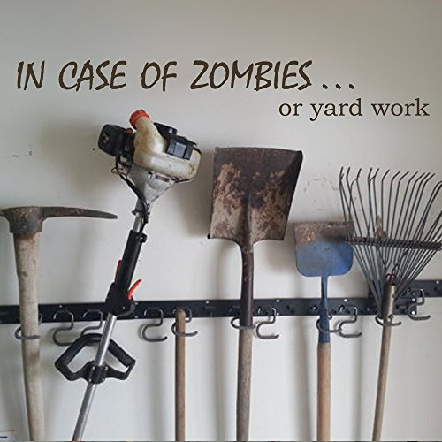 mairgwall Familie vinyl in Fall von Zombies Wand Aufkleber Funny Yard Arbeit Kunst Aufkleber, Vinyl, Customized-colors, 9