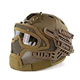 DLD Tactical Helm, Outdoor-Schutzhelm Sport Schutzausrüstung Licht für Krieg Spiel Requisiten Sicherheitspersonal DLD-014