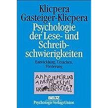 Psychologie der Lese- und Schreibschwierigkeiten