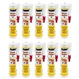 10x Folienkleber, Dichtkleber, Dampfbremse, Dampfsperre, Dampfsperrfolie, Kleber, 10 Kartuschen 310 ml, Verklebung von Dampfsperren