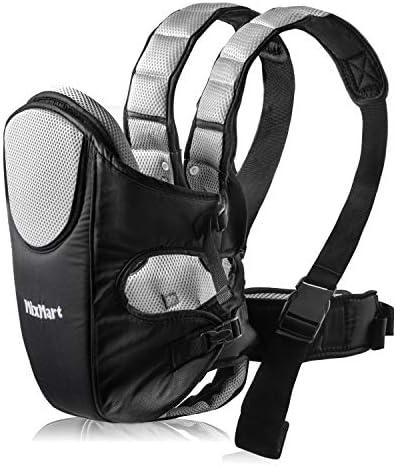 MixMart - - - Portabebè pettorale dorsale 3 in 1, ergonomico, tessuto traspirante, per portare il bambino, multifunzione, con bavaglino, per neonati di 3,5-12 kg B06WV73G49 Parent   Di Alta Qualità E Basso Overhead    Trendy    Conosciuto per la sua  34cdb2