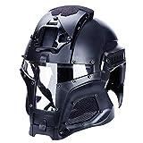 Walmeck Mittelalterliche Vintage Helme Eisen Ritterhelm Knight Helmet Kostüm Outdoor