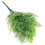 Verde Artificiale impianto di Erba 7 Gambi Asparagus Fern Bonsai Bellezza Finto Piante finte Verde per la Decorazione Domestica del Partito
