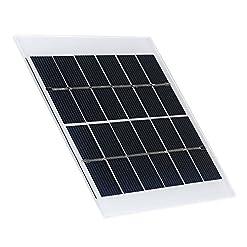 KKmoon Pannello Solare per silicio policristallino 6V 2.5W Pannello Solare per Camper