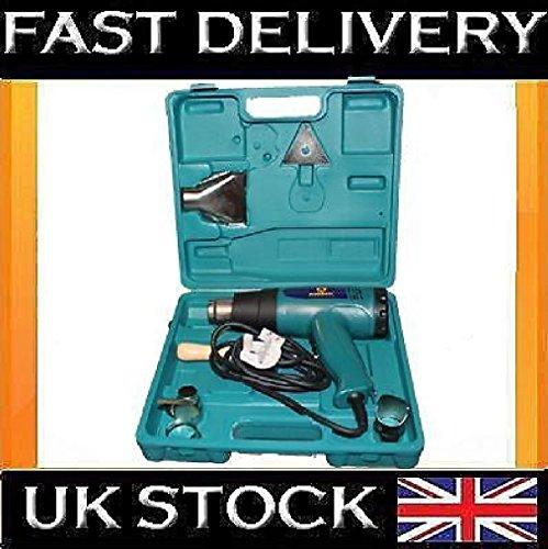 Hot Air Heißluftgebläse 2000W Abbeizmittel im Werkzeugkoffer