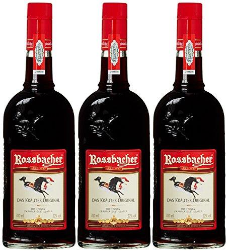 Rossbacher Kräuterlikör (3 x 0.7 l)