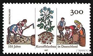 RFA (FR.Allemagne) 1946 (complète.Edition.) timbres prémier jour 1997 350 Années Allemand. production de pommes de terre (Timbres pour les collectionneurs)